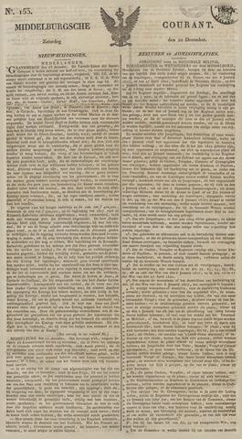 Middelburgsche Courant 1827-12-22