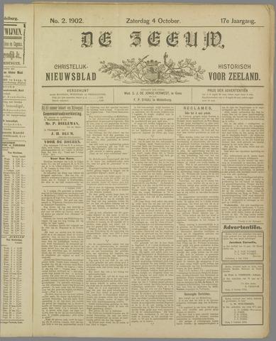 De Zeeuw. Christelijk-historisch nieuwsblad voor Zeeland 1902-10-04