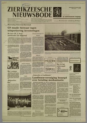 Zierikzeesche Nieuwsbode 1982-02-18