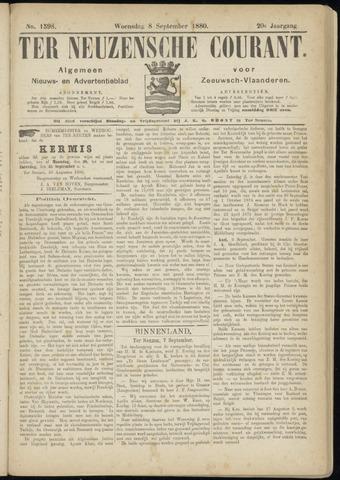 Ter Neuzensche Courant. Algemeen Nieuws- en Advertentieblad voor Zeeuwsch-Vlaanderen / Neuzensche Courant ... (idem) / (Algemeen) nieuws en advertentieblad voor Zeeuwsch-Vlaanderen 1880-09-08