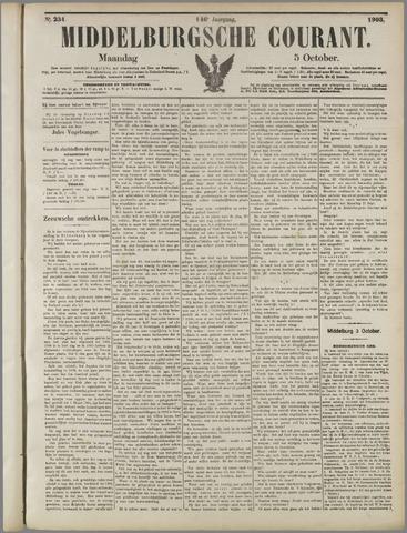 Middelburgsche Courant 1903-10-05