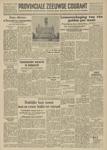 Provinciale Zeeuwse Courant 1948-10-28