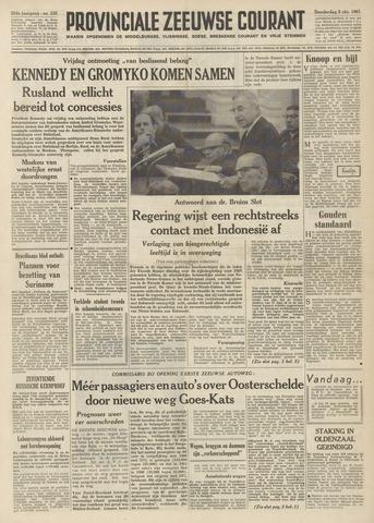 Provinciale Zeeuwse Courant 1961-10-05