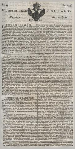 Middelburgsche Courant 1777-04-15