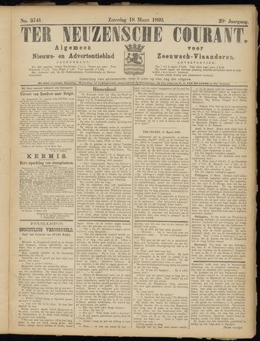 Ter Neuzensche Courant. Algemeen Nieuws- en Advertentieblad voor Zeeuwsch-Vlaanderen / Neuzensche Courant ... (idem) / (Algemeen) nieuws en advertentieblad voor Zeeuwsch-Vlaanderen 1899-03-18