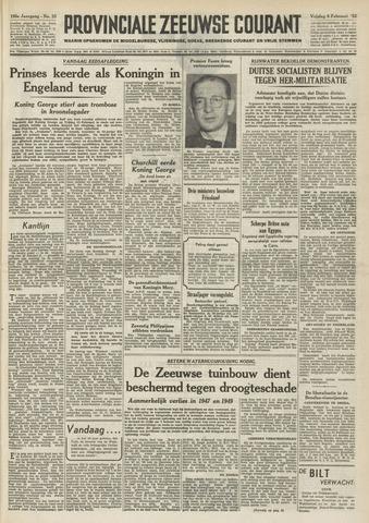 Provinciale Zeeuwse Courant 1952-02-08