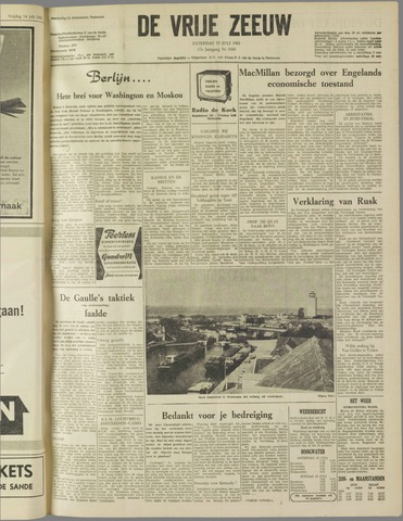 de Vrije Zeeuw 1961-07-15