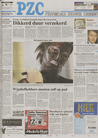 Provinciale Zeeuwse Courant 2006-11-24