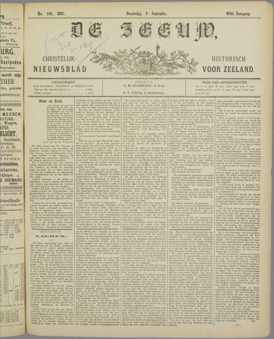 De Zeeuw. Christelijk-historisch nieuwsblad voor Zeeland 1897-09-09