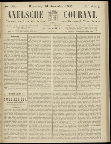 Axelsche Courant 1895-11-13