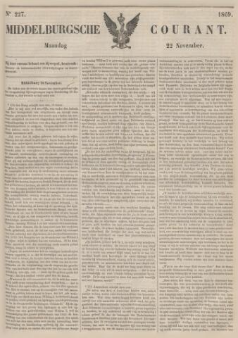 Middelburgsche Courant 1869-11-22