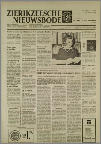 Zierikzeesche Nieuwsbode 1965-01-29