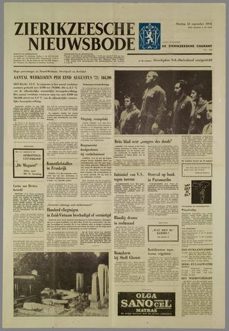 Zierikzeesche Nieuwsbode 1972-09-12