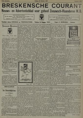 Breskensche Courant 1937-10-22
