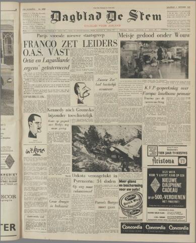 de Stem 1961-10-09