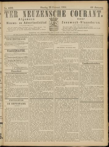 Ter Neuzensche Courant. Algemeen Nieuws- en Advertentieblad voor Zeeuwsch-Vlaanderen / Neuzensche Courant ... (idem) / (Algemeen) nieuws en advertentieblad voor Zeeuwsch-Vlaanderen 1904-02-23