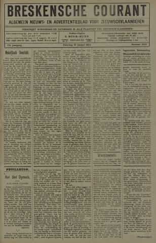 Breskensche Courant 1924-01-19