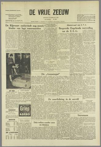 de Vrije Zeeuw 1963-02-19