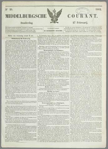 Middelburgsche Courant 1862-02-27