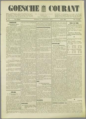 Goessche Courant 1932-08-09