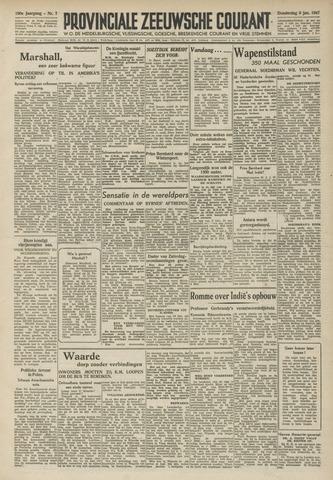 Provinciale Zeeuwse Courant 1947-01-09