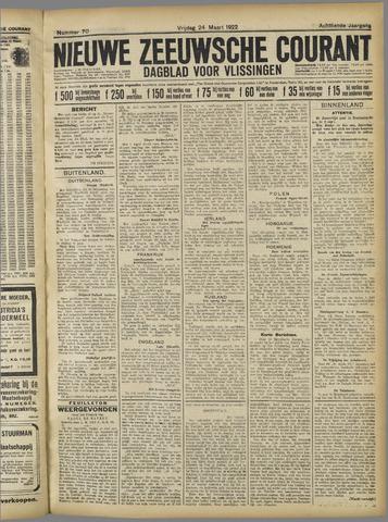 Nieuwe Zeeuwsche Courant 1922-03-24