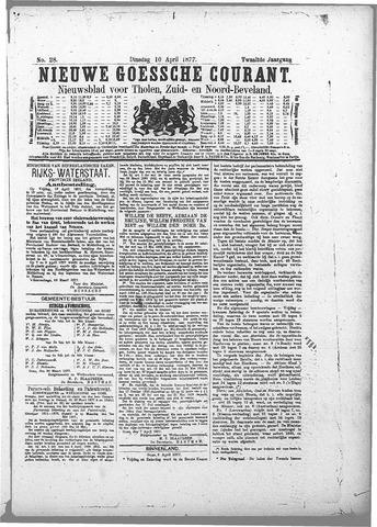 Nieuwe Goessche Courant 1877-04-10