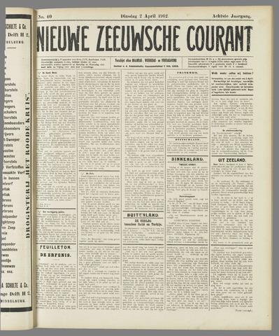 Nieuwe Zeeuwsche Courant 1912-04-02