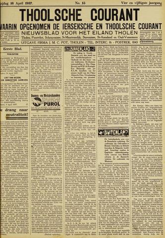 Ierseksche en Thoolsche Courant 1937-04-16