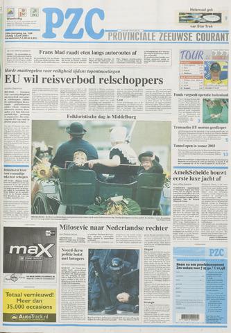 Provinciale Zeeuwse Courant 2001-07-13