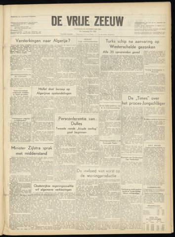 de Vrije Zeeuw 1956-02-29