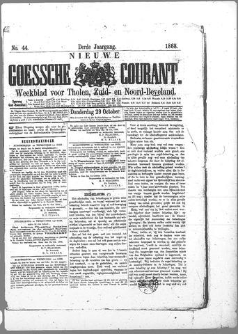 Nieuwe Goessche Courant 1868-10-29
