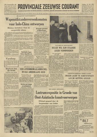 Provinciale Zeeuwse Courant 1954-07-16
