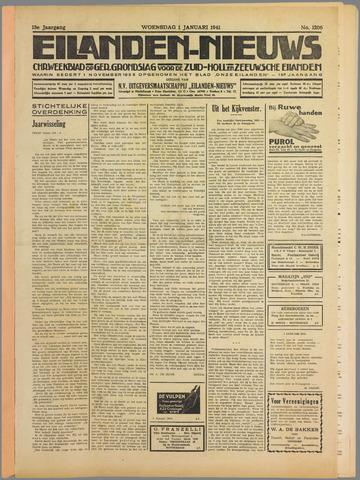 Eilanden-nieuws. Christelijk streekblad op gereformeerde grondslag 1941