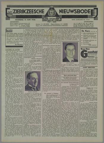 Zierikzeesche Nieuwsbode 1936-06-15