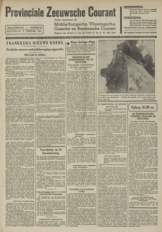 Provinciale Zeeuwse Courant 1941-02-03