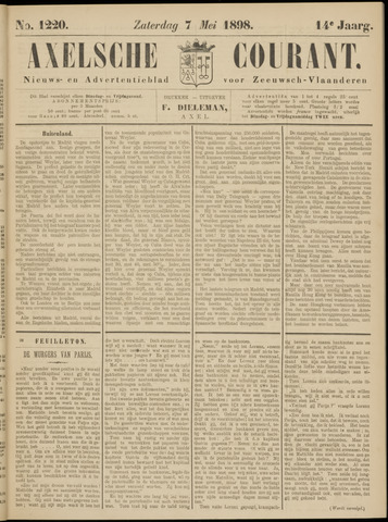 Axelsche Courant 1898-05-07