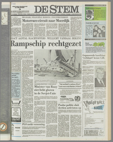 de Stem 1987-04-08
