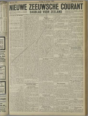 Nieuwe Zeeuwsche Courant 1920-10-15
