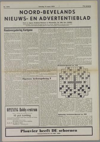 Noord-Bevelands Nieuws- en advertentieblad 1970-03-14