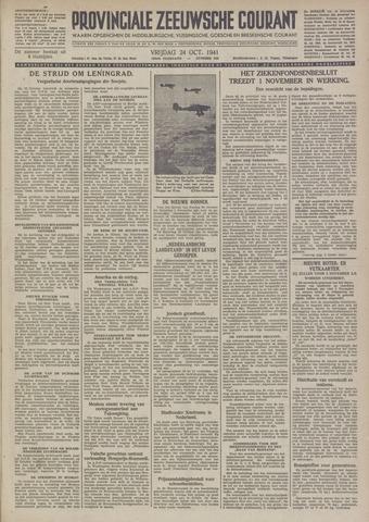 Provinciale Zeeuwse Courant 1941-10-24