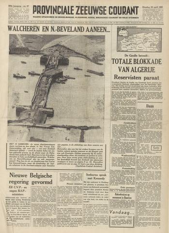 Provinciale Zeeuwse Courant 1961-04-25