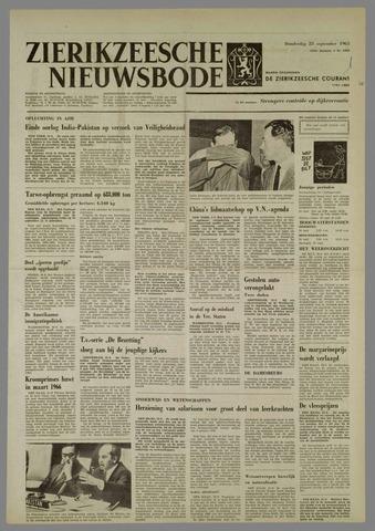 Zierikzeesche Nieuwsbode 1965-09-23