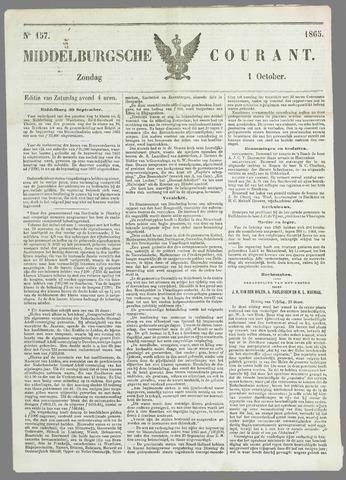 Middelburgsche Courant 1865-10-01
