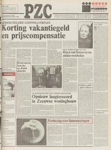 Provinciale Zeeuwse Courant 1980-11-13