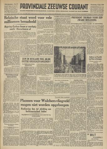 Provinciale Zeeuwse Courant 1950-01-18