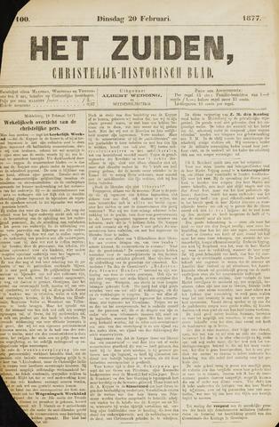 Het Zuiden, Christelijk-historisch blad 1877-02-20