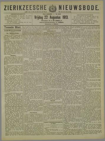 Zierikzeesche Nieuwsbode 1913-08-22