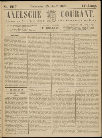 Axelsche Courant 1898-04-13