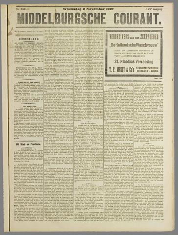 Middelburgsche Courant 1927-11-02